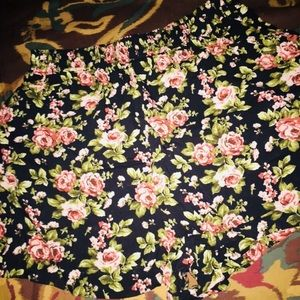 Floral Print Shorts by F21